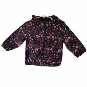 Baby GAP star print raincoat windbreaker jacket